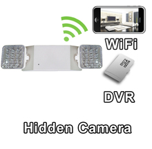 Emergency Light Hidden Camera Spy Camera Nanny Cam WiFi Live Viewing from iPhone Android PC's